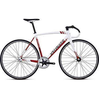 Specialized Langster Vit/Svart/Röd