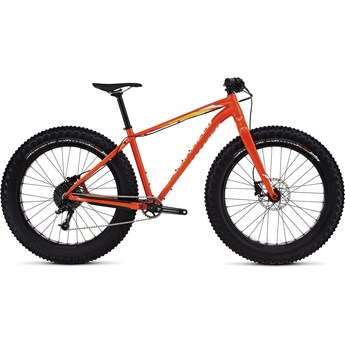 Specialized Fatboy Comp Gloss Moto Orange/White/Orange Fade