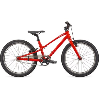 Specialized Jett 20 Single Speed Gloss Flo Red/White 2022