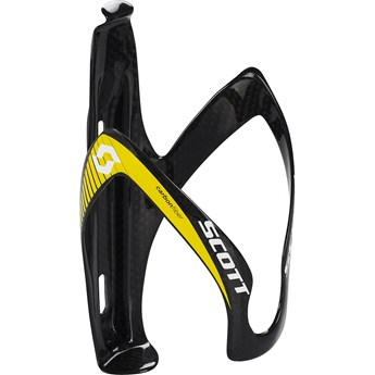 Scott Bottle Cage Pro Carbon Black/Yellow Vattenflaskställ