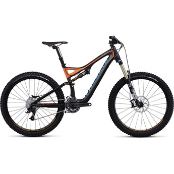 Specialized Stumpjumper FSR Expert Kolfiber Evo Grå/Orange/Blå