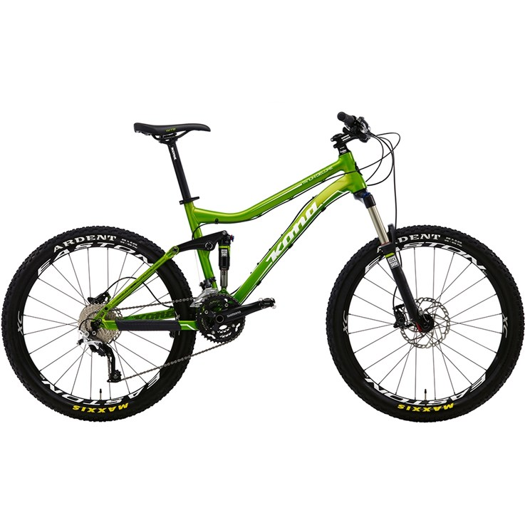Kona Tanuki DL Matt Lime with White and Black