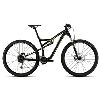 Specialized Camber FSR 29 Black/Hyper Green/White