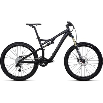Specialized Stumpjumper FSR Comp Svart/Grå