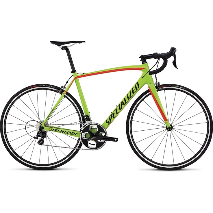 Specialized Tarmac Sport Gloss Monster Green/Rocket Red/Tarmac Black