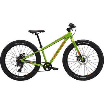 Cannondale 24 Plus Cujo Grön 2019