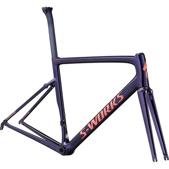Specialized Tarmac SL6 S-Works Frameset Gloss Chameleon Flake/Satin Acid Red/Clean