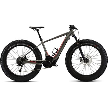 Specialized Levo Hardtail Comp Fat CE Satin/Gloss Charcoal/Rocket Red