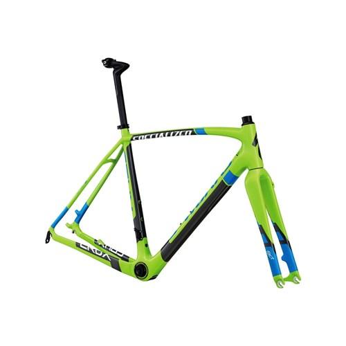 Specialized S-Works Crux Carbon Disc Bara Ram (Frameset) MonstergrönAskgrå/Vit