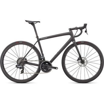 Specialized Aethos Pro eTap Carbon/Flake Silver/Gloss Black Fork Fade 2022