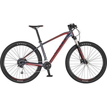 Scott Aspect 740 Dark Grey/Red