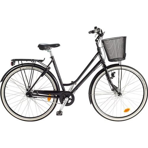 Skeppshult Nova Premium 7 Växlar Damcykel Spegelsvart 2016