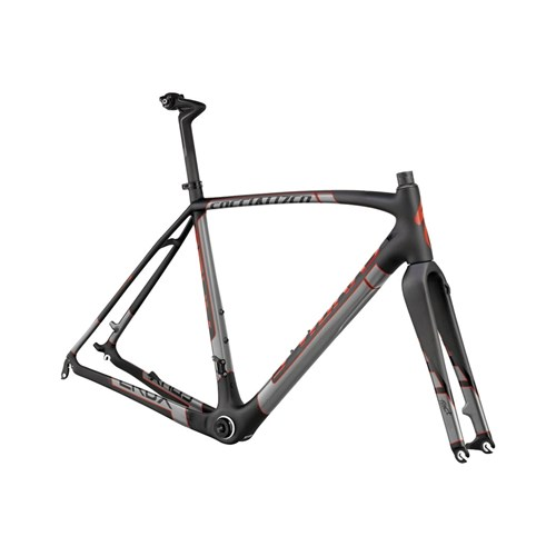Specialized S-Works CruX Carbon Frameset (Rampaket) Carbon/Red/Charcoal 2015