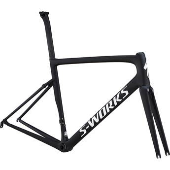 Specialized S-Works Tarmac Men SL6 Frameset Monoblack/White Reflective/Clean 2018