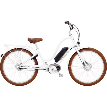 Electra Townie Go! 8i Step-Thru White
