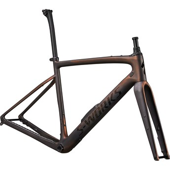Specialized Diverge S-Works Frameset Satin Carbon/Color Run Pearl/Chrome/Clean