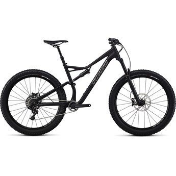 Specialized Stumpjumper FSR Comp 6Fattie Satin Gloss Black/Charcoal/Clean
