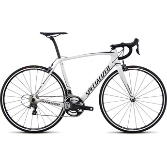 Specialized Tarmac Expert Gloss Metallic White/Tarmac Black 2017