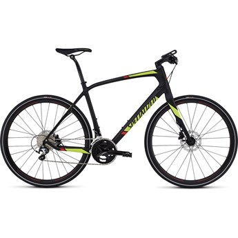 Specialized Sirrus Comp Carbon Carbon/Hyper/Rocket Red