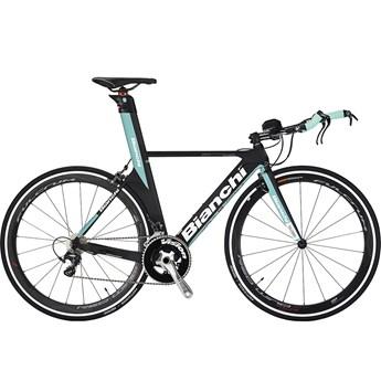 Bianchi Pico Crono Carbon Svart/Celeste Matt