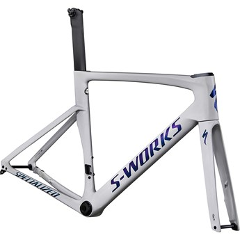 Specialized Venge S-Works Disc Frameset Gloss Dove Grey/Diamond Dust/Blue Murano