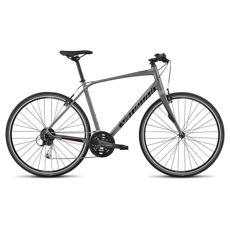 Specialized Sirrus Elite Sterling/Black/Red