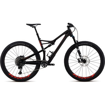 Specialized Camber FSR Men Expert Carbon 29 Gloss Carbon/Red Flake Tint Carbon/Rocket Red