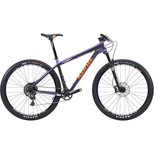Kona King Kahuna Orange/White/Black/Purple On Carbon/Purple 2015