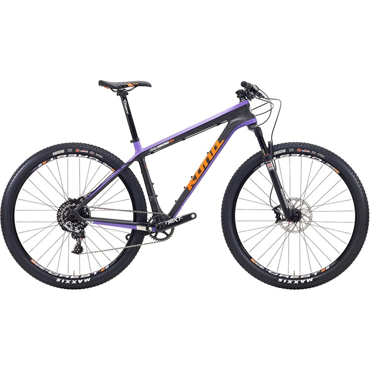 Kona King Kahuna Orange/White/Black/Purple On Carbon/Purple