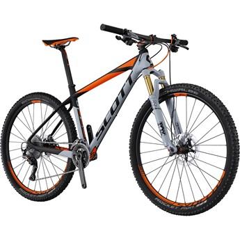 Scott Scale 700 Premium Grå och Orange på Svart