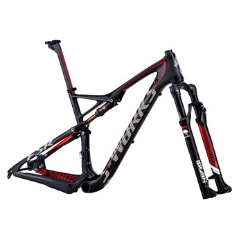 Specialized S-Works Epic FSR Carbon 29 Bara Ram (Frameset) Materialfärg/Vit/Röd