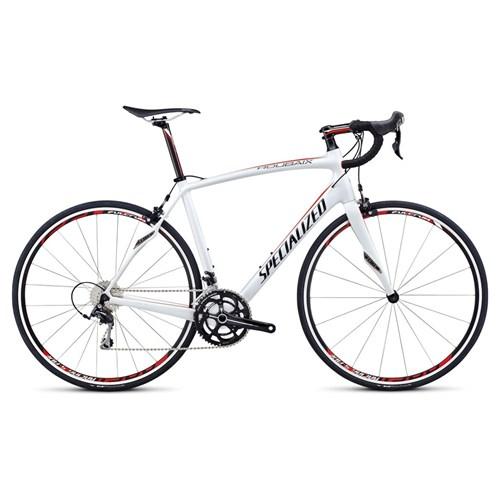 Specialized Roubaix SL4 Elite 105 C2 Vit/Röd/Svart
