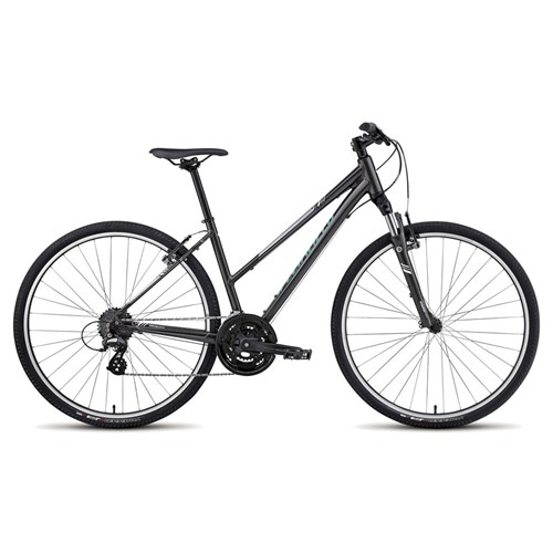 Specialized Ariel Step Through Charcoal/White/Silver/Em Green 2015