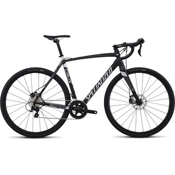Specialized CruX E5 Sport Satin Nearly Black/Charcoal/Flake Silver 2017