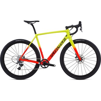 Specialized Crux Expert Gloss Team Yellow/Rocket Red/Tarmac Black/Clean