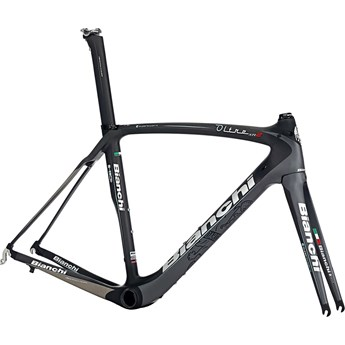 Bianchi Oltre XR2 Rampaket eller Ram Grafit/Svart Black/Graphite/Silver