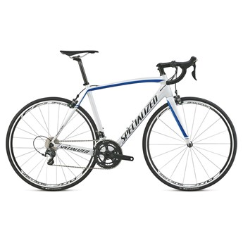 Specialized Tarmac Comp Cen Metallic White/Candy Blue