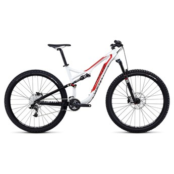 Specialized Stumpjumper FSR Comp 29 Vit/Röd/Svart