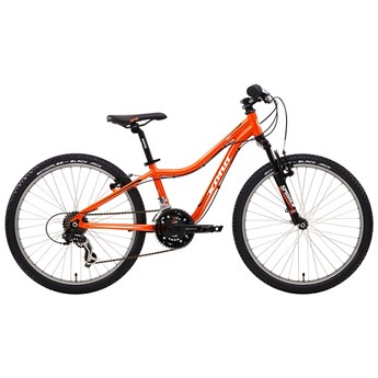 Kona Hula Orange with Black and White