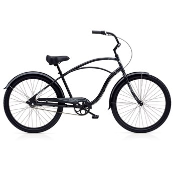 Electra Cruiser Custom 3i Black/Dark Grey Herr
