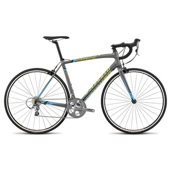 Specialized Allez Elite Charcoal/Cyan/Hyper Green