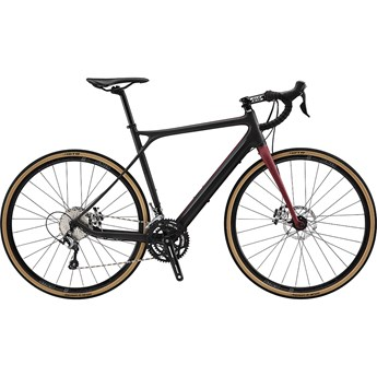 GT Grade Carbon Elite Satin Black and Wine Red with Wine Red and Grey 2019