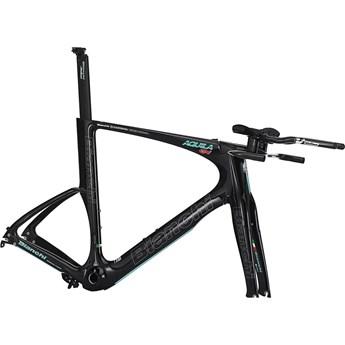 Bianchi Aquila CV Rampaket eller Ram Black Matt/Celeste/Titan Outline Glossy