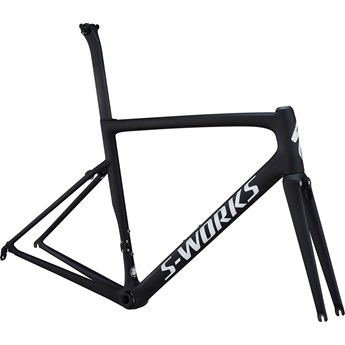Specialized S-Works Tarmac Men SL6 Ultralight Frameset Ultralight Monocoat Black/Silver Reflective Clean