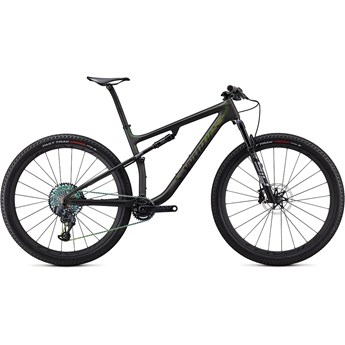 Specialized S-Works Epic Satin/Gloss Carbon/Color Run Silver/Green Chameleon 2020