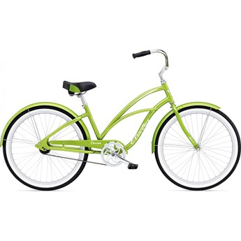Electra Cruiser Lux 1 Green Metallic Dam 2017