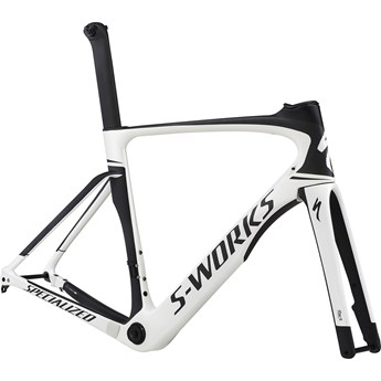 Specialized S-Works Venge Disc Vias Rampaket (Frameset) Gloss Metallic White/Satin Carbon/Black