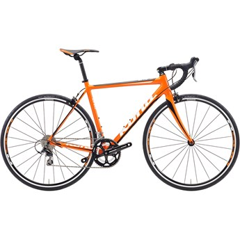 Kona Zing Alloy White/Black On Matt Orange