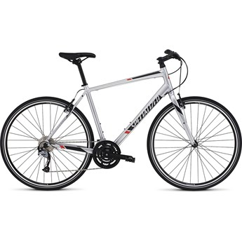 Specialized Sirrus Sport Light Silver/Black/Rocket Red