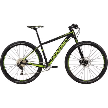 Cannondale F-Si 1 Jet Black with Berzerker Green, Matte